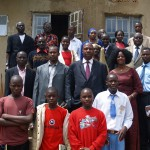 Uganda's local meeting, September 20th 2008 at the Rhomu Care College Namilyango school